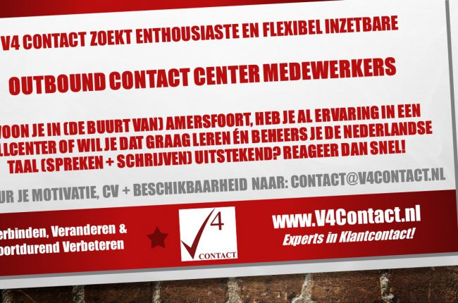 Vacature Outbound mdw